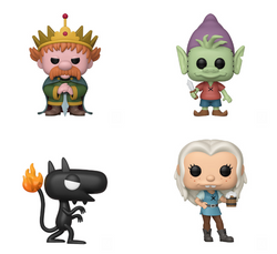 Disenchantment Funko Pop! Complete Set of 4 (Pre-Order)