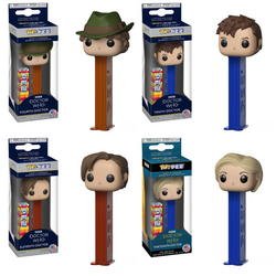 Doctor Who Funko Pop! Pez Complete Set of 4 (Pre-Order)