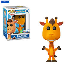 Ad Icons Funko Pop! Geoffrey (Toys R Us) (Flocked) #12