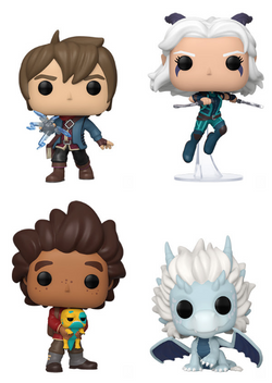 The Dragon Prince Funko Pop! Complete Set of 4 (Pre-Order)
