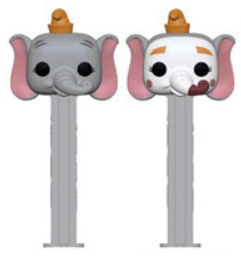 Disney Funko Pop! PEZ Dumbo Complete Set of 2 (Pre-Order)