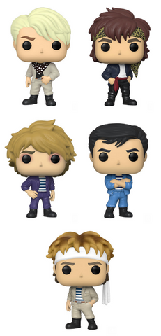 Duran Duran Funko Pop! Complete Set of 5 (Pre-Order)