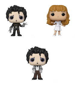 Edward Scissorhands Funko Pop! Complete Set of 3 (Pre-Order)