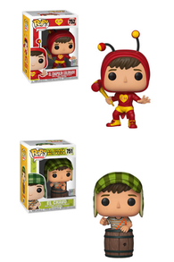 El Chavo and El Chapulin Colorado Funko Pop! Complete Set of 2 (Pre-Order)