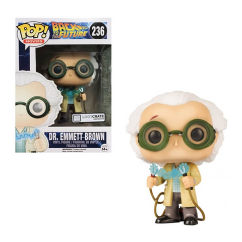 Back to the Future Funko Pop! Dr. Emmett Brown (Jumper Cables)