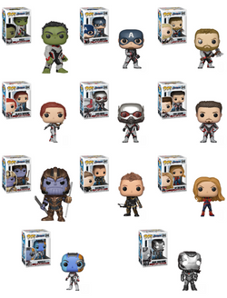 Avengers Endgame Funko Pop! Complete Set of 11