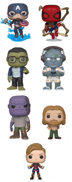 Avengers Endgame Funko Pop! Complete Set of 7 Series 3 (Pre-Order)