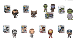 Avengers Endgame Funko Pop! Complete Set of 9 Exclusives (Pre-Order)