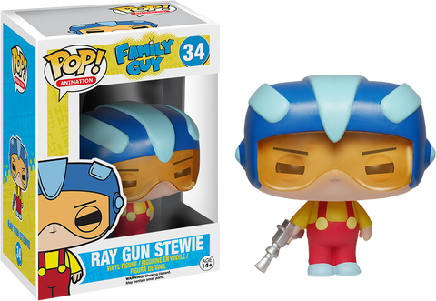 Family Guy Funko Pop! Ray Gun Stewie