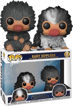 The Crimes of Grindelwald Funko Pop! Baby Nifflers (Black and Grey) (2-Pack)