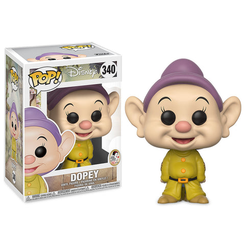 Snow White Funko Pop Dopey 340 Big Apple Collectibles