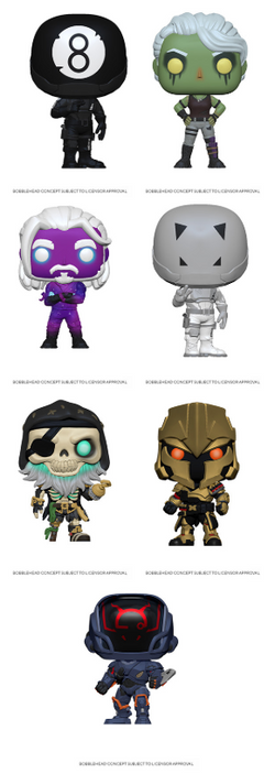 Fortnite Funko Pop! Complete Set of 7 (Pre-Order)