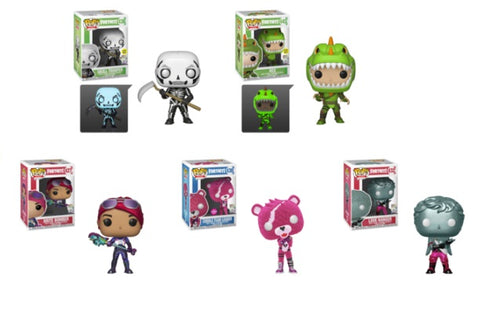 Fortnite Funko Pop! Complete Set of 5 Exclusives (Pre-Order)