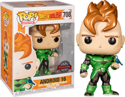 Dragon Ball Z Funko Pop! Android 16 (Metallic) #708 (Pre-Order)