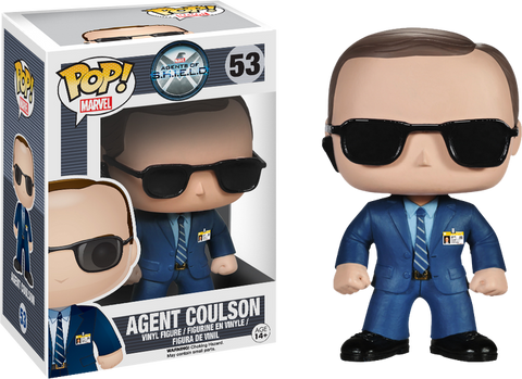 Marvel: Agents of S.H.I.E.L.D. Funko Pop! Agent Coulson #53