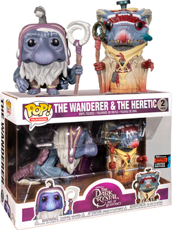 Dark Crystal Funko Pop! The Wanderer & The Heretic (2-Pack) (Shared Sticker)