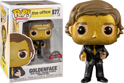 The Office Funko Pop! Goldenface (Jim Halpert) #877