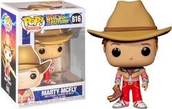 Back to the Future Funko Pop! Marty McFly (Cowboy Outfit) #816 (Pre-Order)