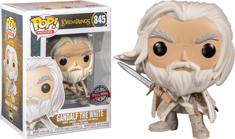 Lord of the Rings Funko Pop! Gandalf the White #845 (Pre-Order)