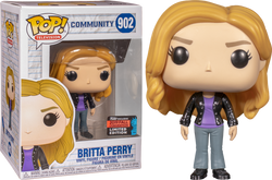 Community Funko Pop! Britta (Shared Sticker) #902