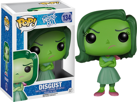 Inside Out Funko Pop! Disgust