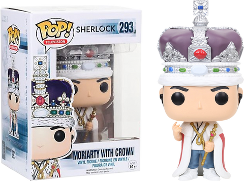 Sherlock Funko Pop! Moriarity with Crown