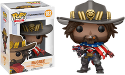 Overwatch Funko Pop! McCree (USA) #182