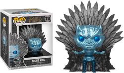 Game of Thrones Funko Pop! Night King on Iron Throne (Metallic) 6in #74