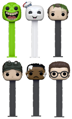 Ghostbusters Funko Pop! Pez Complete Set of 6 (Pre-Order)