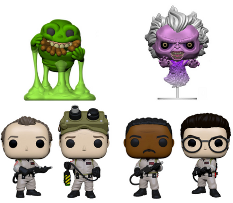 Complete Set Funko 5 Star Ghostbusters