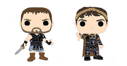 Gladiator Funko Pop! Complete Set of 2 (Pre-Order)