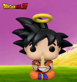 Dragon Ball Z Funko Pop! Goku (Eating Noodles) #710 (Pre-Order)