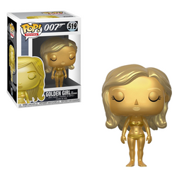 007 Funko Pop! Golden Girl from Goldfinger #519