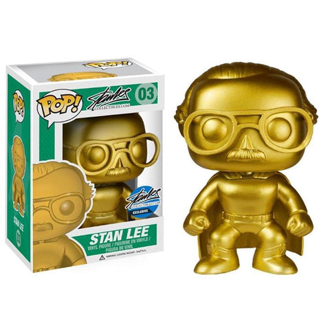 Stan Lee Collectibles Funko Pop! Stan Lee (Gold)