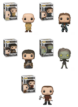 Game of Thrones Funko Pop! Complete Set of 5 Wave 9 (Pre-Order)