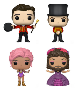 The Greatest Showman Funko Pop! Complete Set of 4 (Pre-Order)