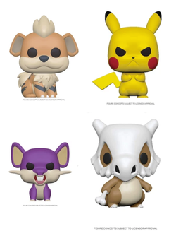 Pokemon Funko Pop! Complete Set of 4 Series 2 (Pre-Order)