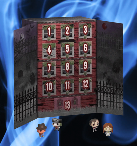 Halloween Funko Advent Calendar 13-day Spooky Countdown (2020)