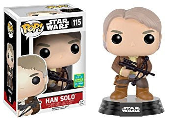 Star Wars Funko Pop! Han Solo with Bowcaster #115