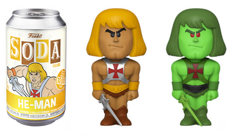 Masters of the Universe Funko Vinyl SODA He-Man (Chance of Chase)