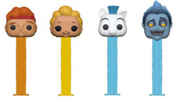 Disney Funko Pop! PEZ Hercules Complete Set of 4 (Pre-Order)