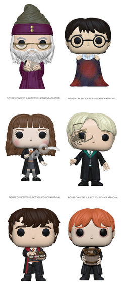Harry Potter Funko Pop! Complete Set of 6 London Toy Fair (Pre-Order)