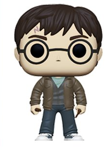 Harry Potter Funko Pop! Harry Potter (with Stone and Wand) (Pre-Order)
