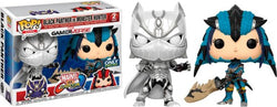 Marvel Vs. Capcom Infinite Funko Pop! Black Panther vs Monster Hunter (2-Pack)