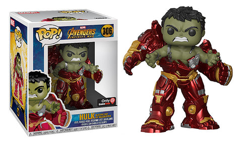 Avengers: Infinity War Funko Pop! Hulk Busting Out of Hulkbuster #306