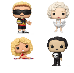 Icons Funko Pop! Complete Set of 4 (Pre-Order)