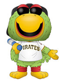 MLB Mascot Funko Pop! Pirate Parrot (Pittsburgh) (Pre-Order)