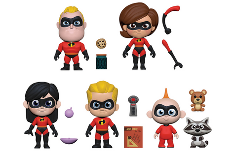 The Incredibles Funko 5 Star Complete Set of 5 (Pre-Order)