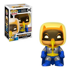 DC Super Heroes Funko Pop! Interplanetary Batman (Shared Sticker) #196