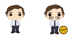 The Office Funko Pop! Jim Halpert CHASE & Common (Pre-Order)